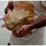 YesoConcesión Los Algezares, Segorbe, Comarca Alto Palancia, Castelló/Castellón, Comunitat Valenciana, España25 x 23 cm (Autor: Rafa Muñoz(mineralvarado))
