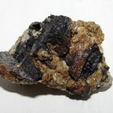 Casiterita.<br />Minas de Penouta, Penouta (San Bartolomé), Viana do Bolo, Comarca Viana, Ourense/Orense, Galicia, España<br />5''1 x 3''3 cm.<br /> (Autor: phrancko)
