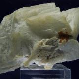 Barita<br />Sierra Minera de Cartagena-La Unión, Cartagena, Comarca Campo de Cartagena, Murcia, Región de Murcia, España<br />17 x 12 x 12 cm<br /> (Autor: Ricardo Fimia)