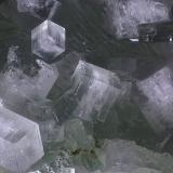 Apofilita (Series), Prehnita<br />Cantera Luck Stone (Cantera Luckstone), Bealeton, Condado Fauquier, Virginia, USA<br />Campo de visión 4 mm.<br /> (Autor: Juan Miguel)