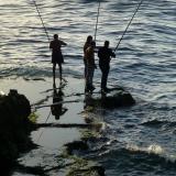 _Fishermen on the corniche at sunset. (Author: Fiebre Verde)
