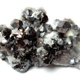 Galena, sphalerite, quartz<br />Rucheng Mine, Caojia, Nuanshui, Rucheng, Chenzhou Prefecture, Hunan Province, China<br />10 cm<br /> (Author: Tobi)