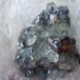 Water Clear FluoriteMina First Sovetskii, Dalnegorsk, Distrito minero Kavalerovo, Primorskiy Kray, Extremo Oriente ruso, Rusia8.4 x 6.2 cm (Author: Casimir Sarisky)