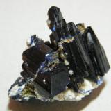 Azurite<br />Tsumeb Mine, Tsumeb, Otjikoto Region, Namibia<br />40x40x40mm<br /> (Author: Heimo Hellwig)