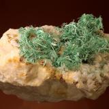 Malachite<br />Mockleiten Mine, Brixlegg, Kufstein, Inn Valley, North Tyrol, Tyrol/Tirol, Austria<br />58 mm<br /> (Author: Gerhard Brandstetter)