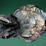 Hematite<br />Rio Marina, Elba Island, Livorno Province, Tuscany, Italy<br />22 mm<br /> (Author: Gerhard Brandstetter)