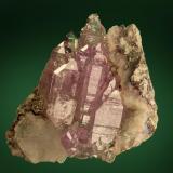 Quartz (variety amethyst)<br />Osilo, Sassari Province, Sardinia/Sardegna, Italy<br />27 mm<br /> (Author: Gerhard Brandstetter)