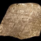Iron (variety kamacite)<br />Gibeon meteorite, Gibeon, Mariental District, Hardap Region, Namibia<br />87 mm<br /> (Author: Gerhard Brandstetter)