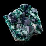 FluoriteMina Rogerley, Frosterley, Weardale, North Pennines Orefield, County Durham, Inglaterra, Reino Unido16,0x15,5x7,5cm (Author: MIM Museum)