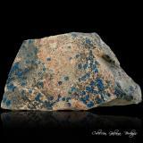 Cornetita<br />Mina L'Etoile du Congo (Mina Estrella del Congo), Lubumbashi (Elizabethville), Cinturón de cobre de Katanga, Katanga (Shaba), Congo RD (Zaire)<br />91 x 60 x 27 mm.<br /> (Autor: Rafael Galiana)